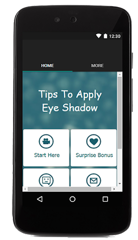 android Tips To Apply Eye Shadow Screenshot 0