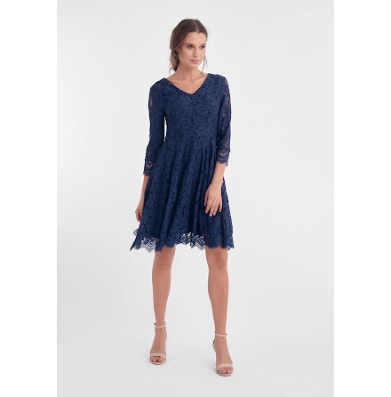 Dry Lake Camille dress blue lace