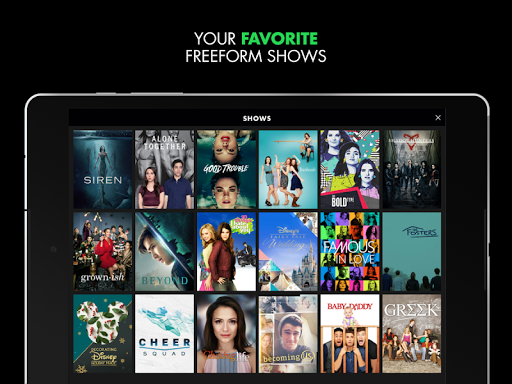 Freeform – Stream Full Episodes, Movies, & Live TV screenshot 14