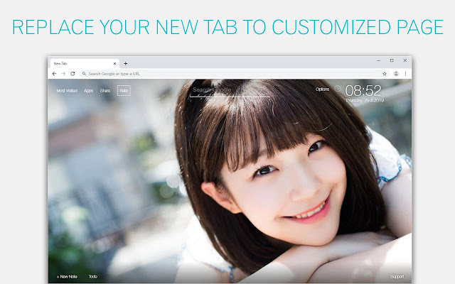 Kpop Fromis_9 Wallpaper HD Custom New Tab