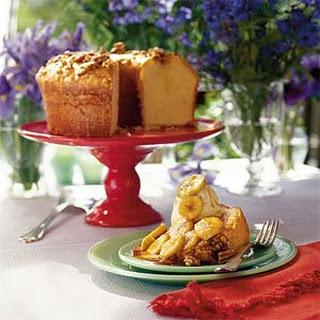 Banana Foster Pound Cake Recipes