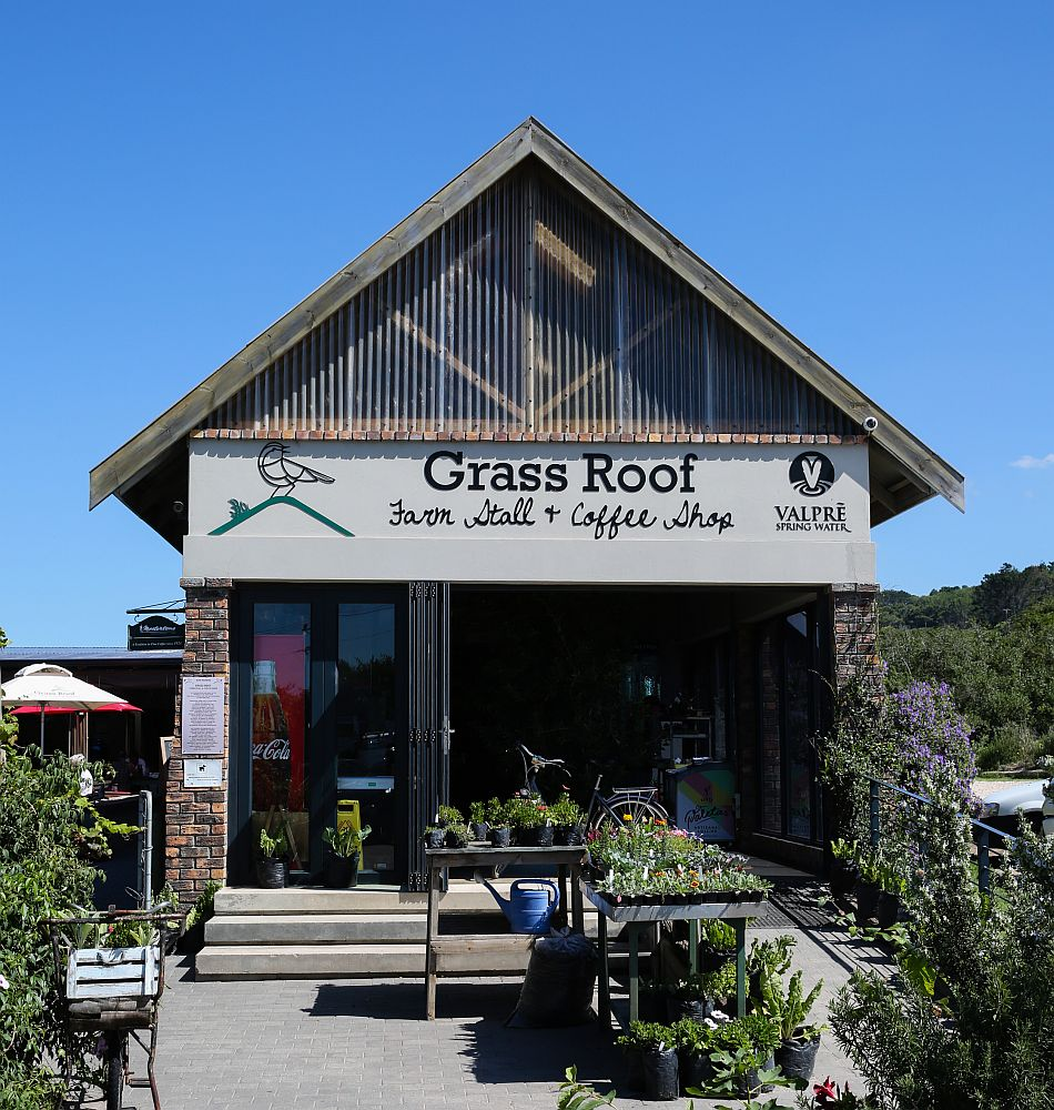 The Grass Room Farm Stall and Coffee Shop is in Sardinia Bay