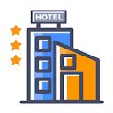 Hotel Aj International, Shivajinagar, Bangalore logo