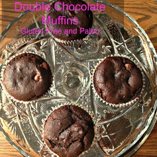Gluten Free and Paleo Friendly Double Chocolate Muffins