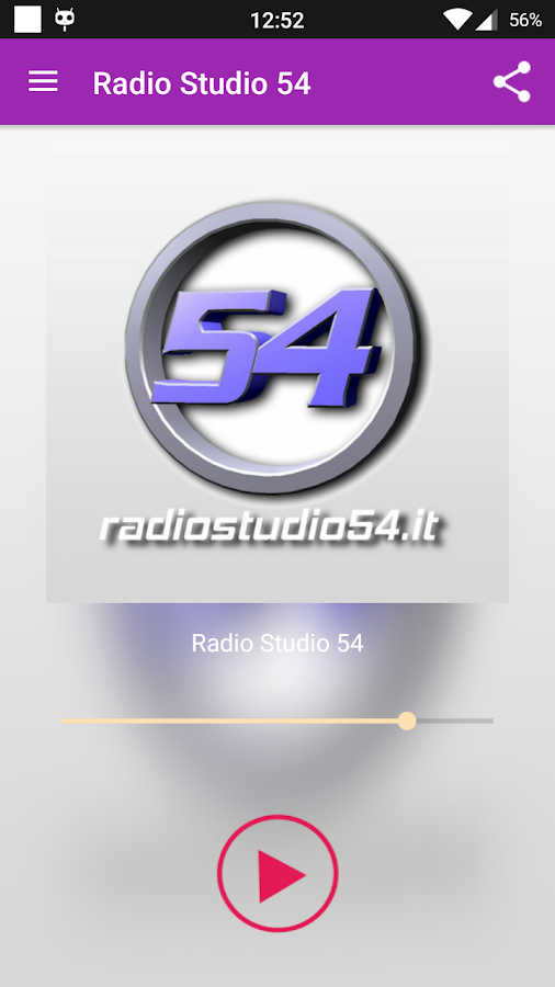 Radio Studio 54- screenshot