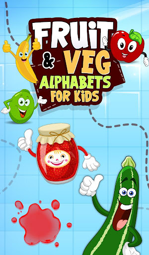 Fruit Veg Alphabets For Kids