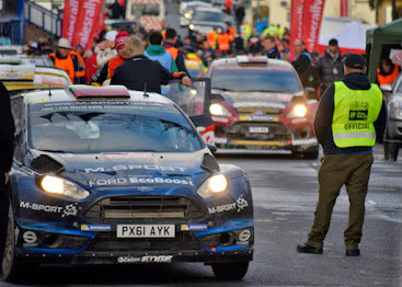 Wales Rally GB in Newtown today