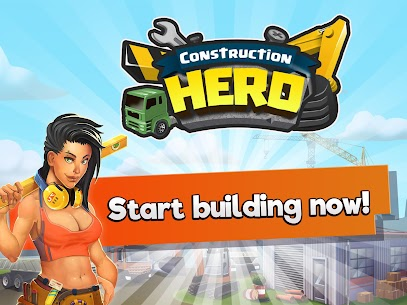 Construction Hero MOD APK 1.0.542 [Unlimited Diamonds + Cash] 8