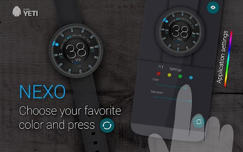 How to install Watch Face - NEXO 1.3 mod apk for pc