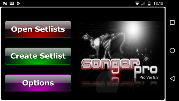 Songer Pro- screenshot
