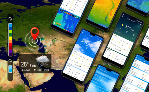 Weather radar & Global weather checker 16.6.0.6270_50153 Screenshots 3