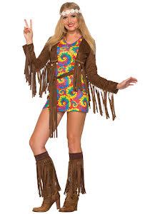 Hippieklänning, kort