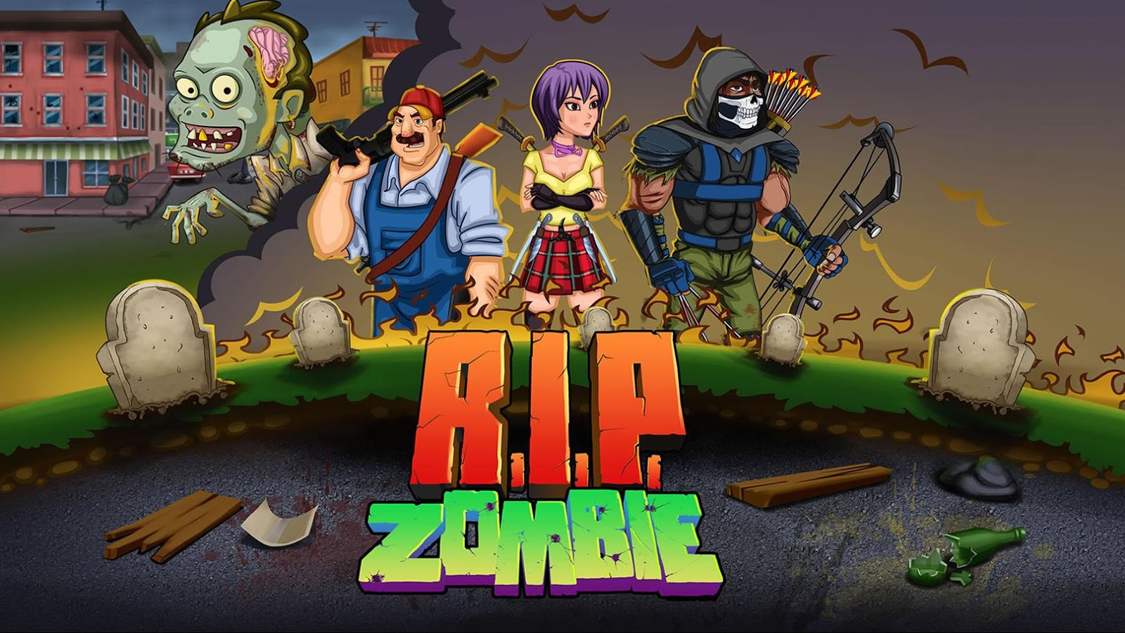 R.I.P. Zombie- screenshot