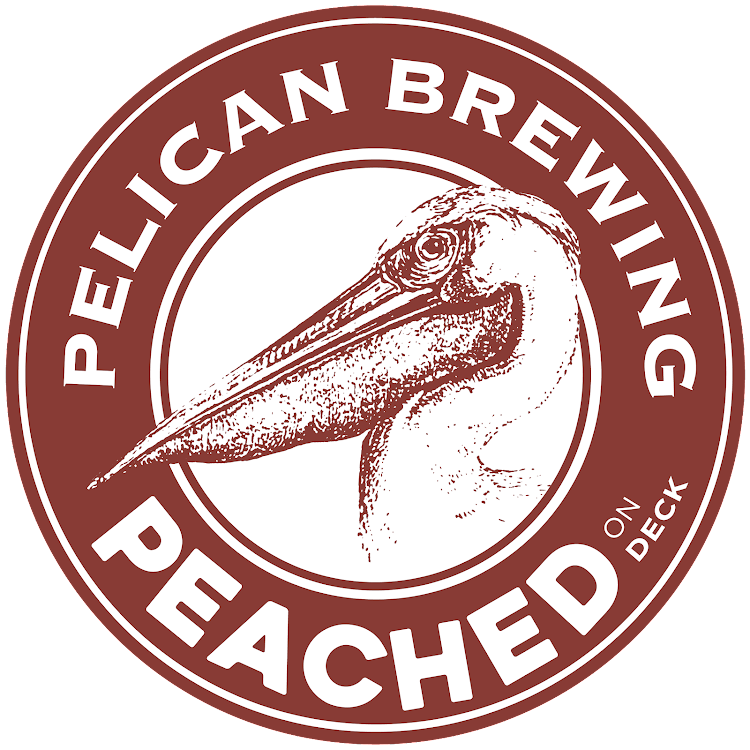 Logo of Pelican Peached on Deck