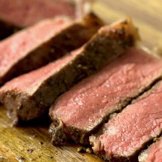 New York Strip Steak Sous Vide.