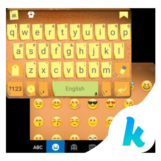 Sticky Notes Kika Keyboard