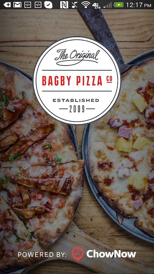 Bagby Pizza Co.- screenshot