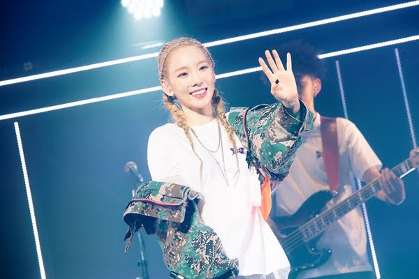Girls' Generation Taeyoun begins a solo tour in Japan