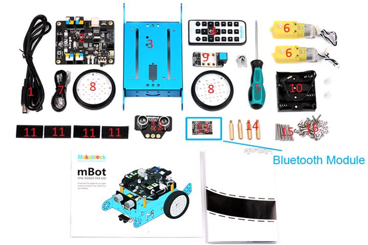 mBot: Cấu tạo của mBot