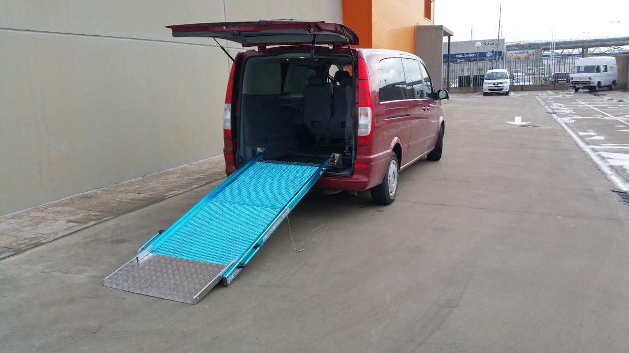Alquiler de furgonetas para minusvalidos en Zaragoza