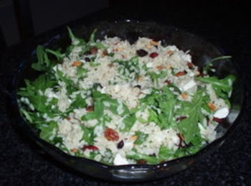 Orzo Spinach Salad Recipe
