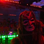 tribes at the Robot Restaurant in Kabukicho in Kabukicho, Tokyo, Japan