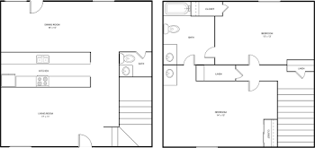 Go to Townhome B Floorplan page.