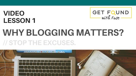 blogging matters get found online