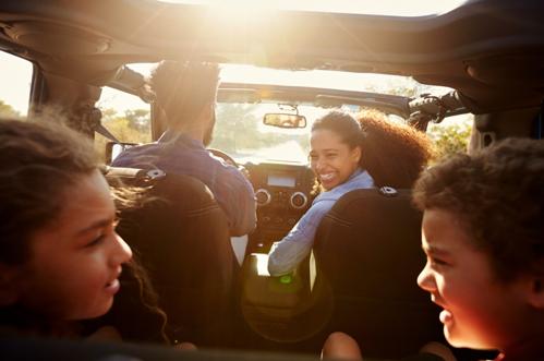 roadtrip mobil bersama anak