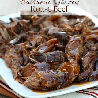 Balsamic Glazed Roast Beef