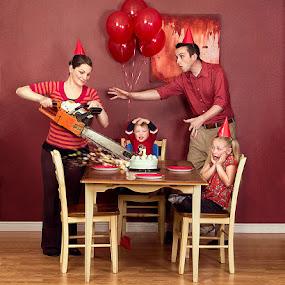 Piece of Cake by Braxton Wilhelmsen - News & Events World Events ( birthday, family, advertising, chainsaw )
