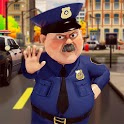 Traffic Police Officer Simulator: Police Car Games icon