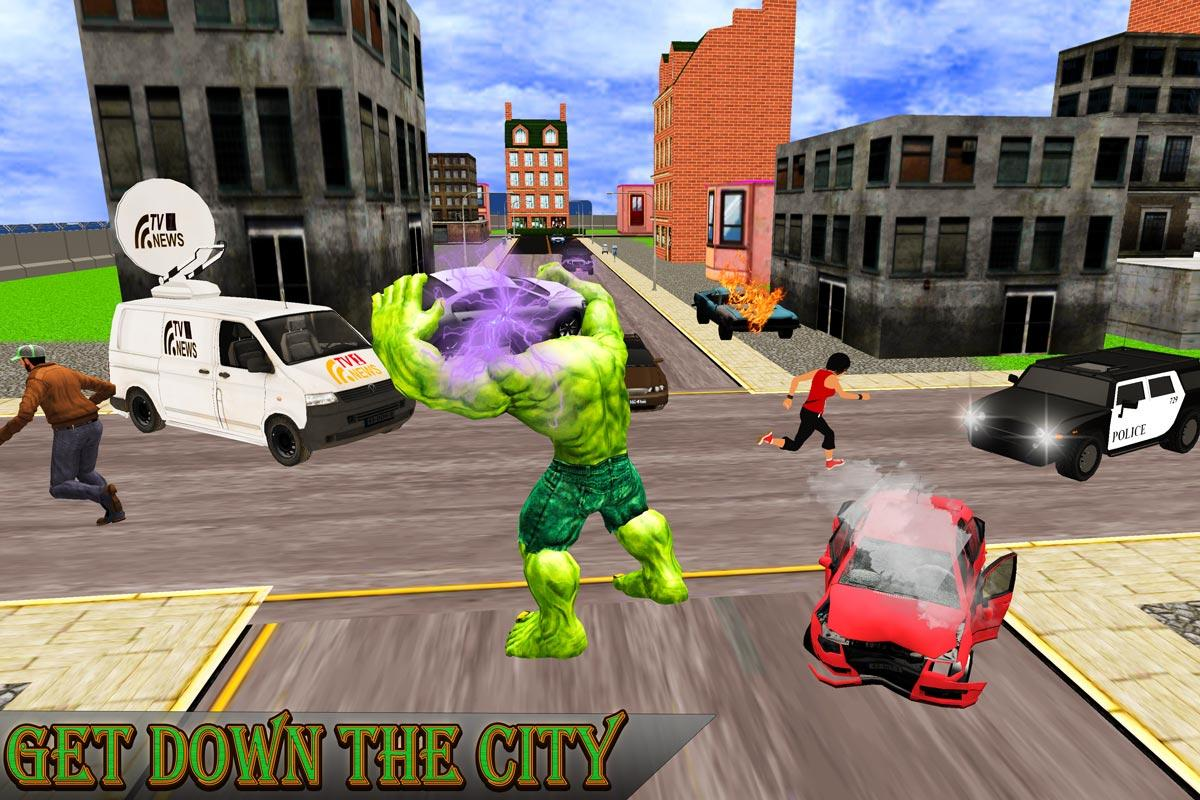Monster Hero Battle in City- screenshot