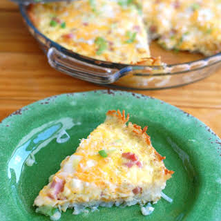 Hash Brown Crust Breakfast Casserole.
