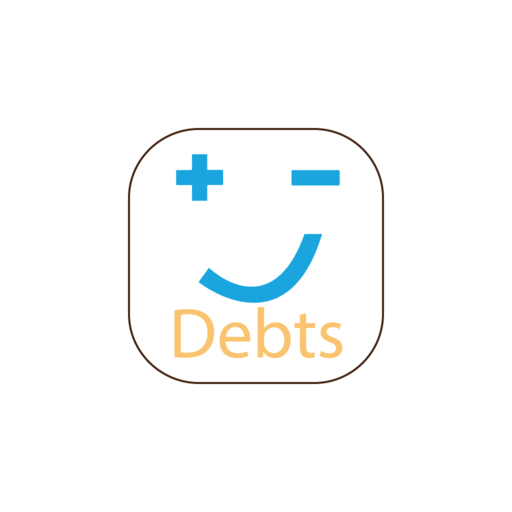 Debts - Account book in your pocket
