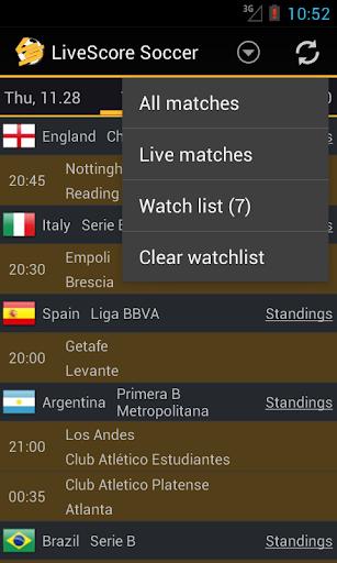 Livescore Soccer 1.3.8 screenshots 6