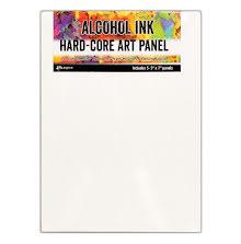 Tim Holtz Alcohol Ink Hard Core Art Panel 3/Pkg - 5X7