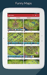 Maps for Clash of Clans – Town Hall & Builder Hall 9