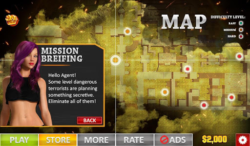 Rescue Strike: Commando FPS Strategy Survival Game