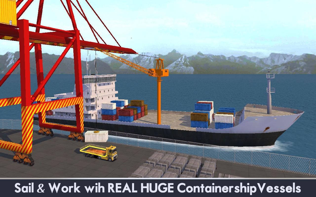 Cargo Ship Manual Crane 3- screenshot