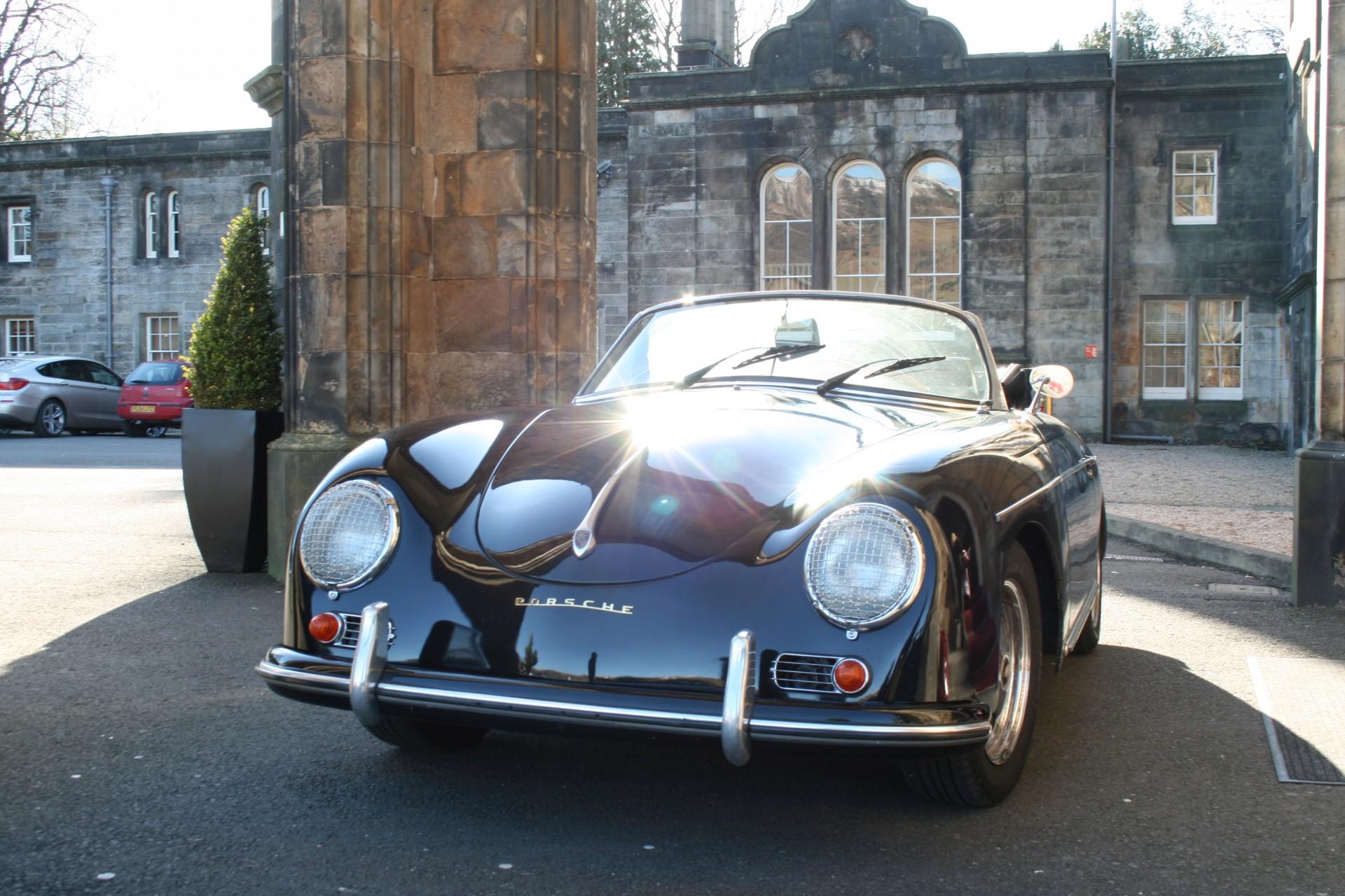 Porsche 356 'd' Roadster Hire Glasgow