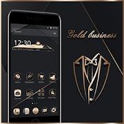 App Gold Black Neat Theme APK for Windows Phone