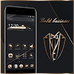 Gold Black Neat Theme APK