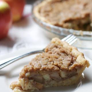 Brown Butter Apple Custard Pie Recipe