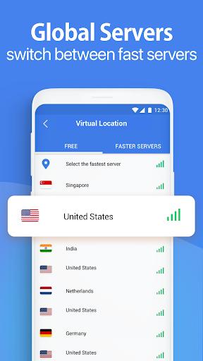 Snap VPN - Unlimited Free & Super Fast VPN Proxy 4.3.3 Screenshots 2