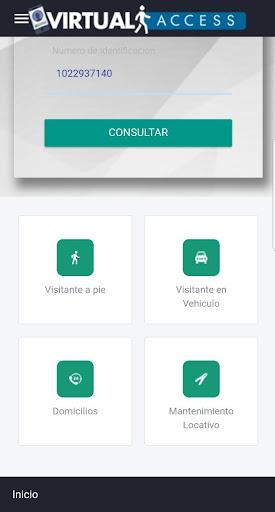 Virtual Access - Reception screenshot 2