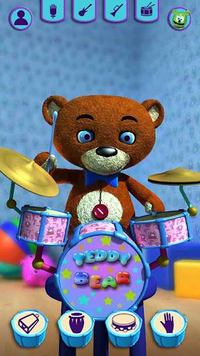 Talking Teddy Bear - Talking Games Teddy  screenshots 4