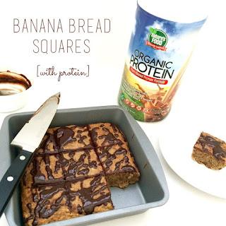 Banana Bread Squares