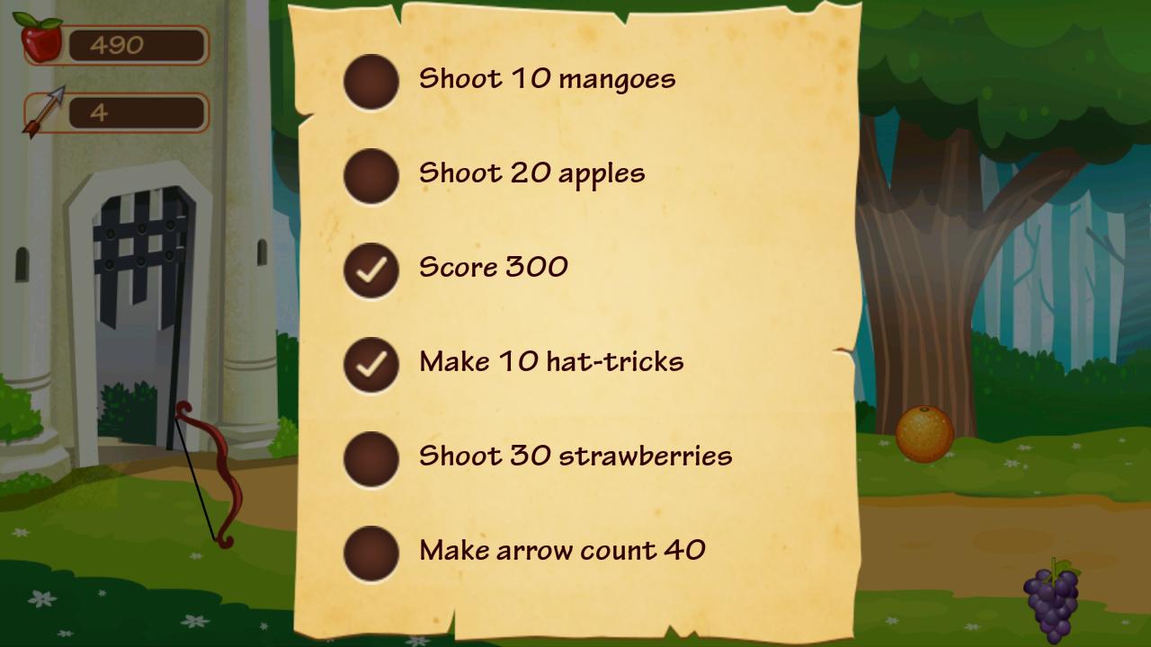 Fruit bump game free download - Fruit Splash Archery Screenshot