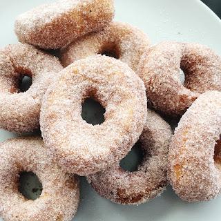 Fastest Cinnamon Sugar Doughnuts